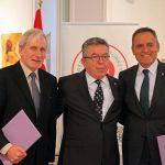 Prof. Wojciech Zubala, prof. dr. Yusuf Ziya Ozcan i prof. dr. Murat Tuncer