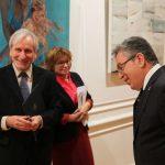 Prof. Wojciech Zubala i ambasador Republik Turcji prof. dr. Yusuf Ziya Ozcan