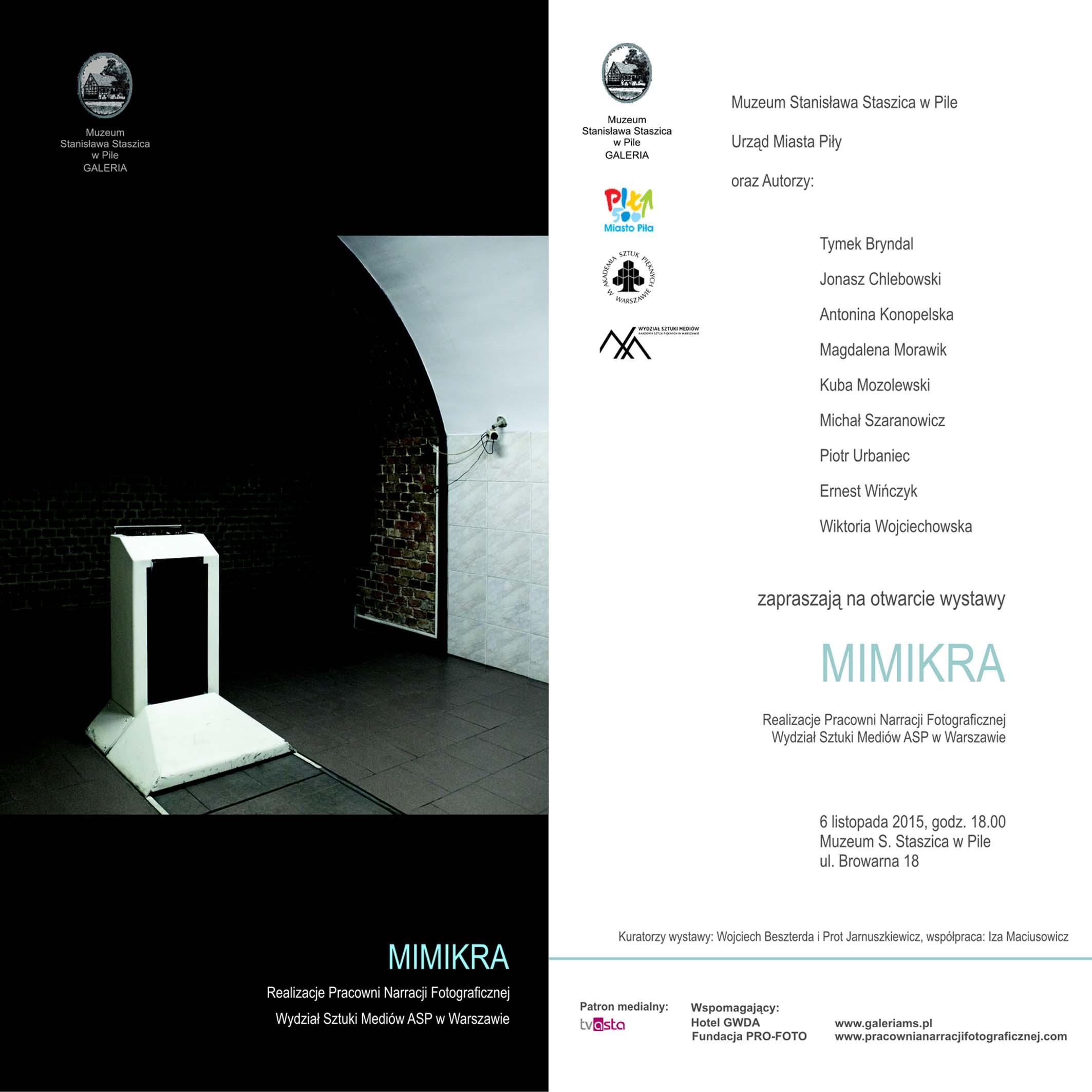 MIMIKRA- zaproszenie