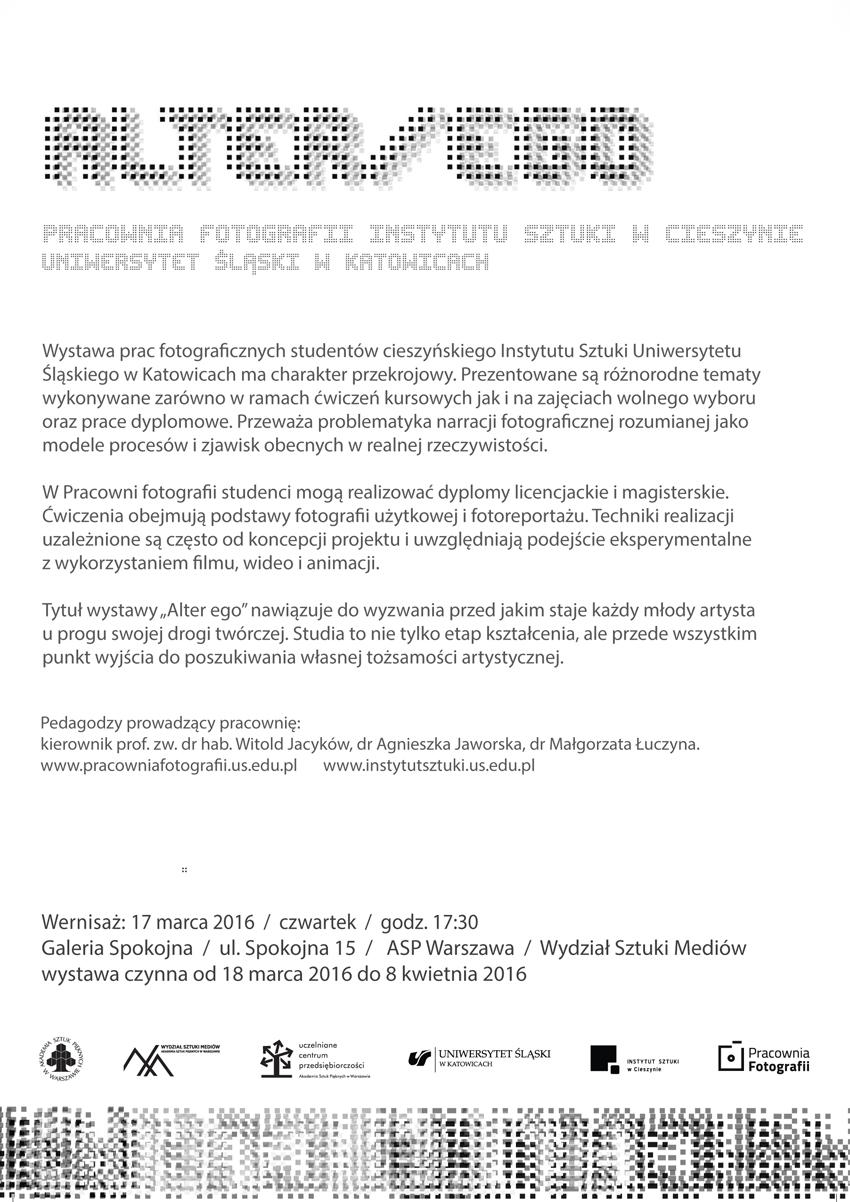 PRACOWNIA wystawa - ulotka A5 DRUK