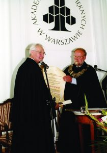 2006.Doktorat honoris causa-Andrzej Wajda