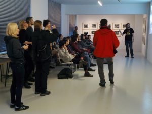 Wykład o historii Hawierzowa, Galeria Crystal