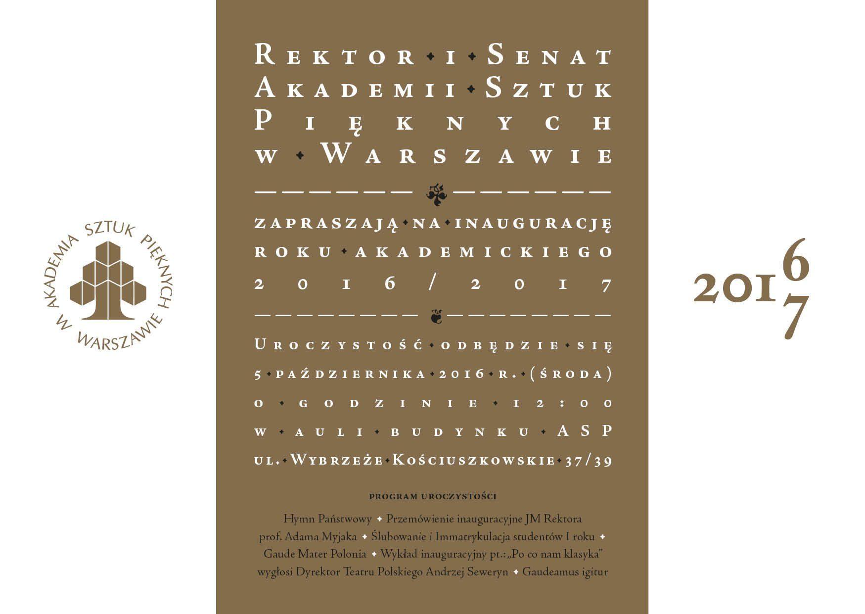 inauguracja-zaproszenie