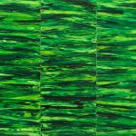 Bez tytułu, 2012, olej napłótnie, 225 x 180 cm fot.: Wojciech Zubala