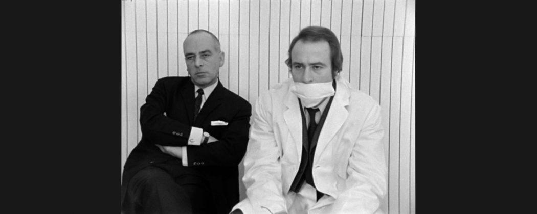 """Kadr z filmu """"Ogień nie do ugaszenia"""" (""""Nicht löschbares Feuer""""), Harun Farocki, 1969, fot. materiały prasowe"""