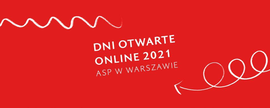 grafika Dni Otwarte Online - ASP w Warszawie