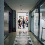 Otwarcie 27. Międzynarodowego Biennale Plakatu wWarszawie, 12 czerwca 2021, AsP wWarszawie / Pałac Czapskich, fot.Stanisław Loba
