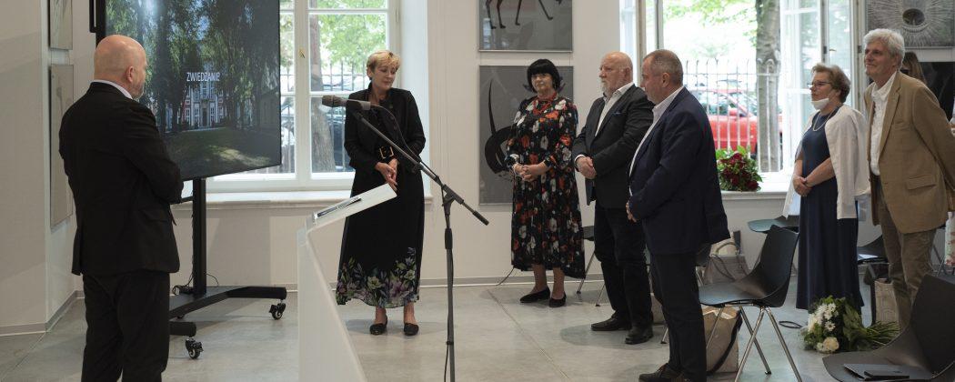 Uroczyste otwarcie przebudowanego Pałacu Czapskich, 11.06.2021, fot. ASP w Warszawie
