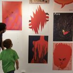 AVANTI. Wystawa towarzysząca 27. Międzynarodowemu Biennale Plakatu wWarszawie. Wernisaż: 11.06.2021, fot.Paulina Brzezińska