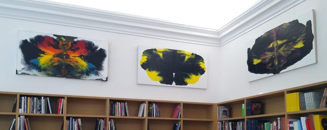 Galeria w Bibliotece Głównej ASP w Warszawie. fot. Anna Karwat