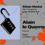 "27. MBP wWarszawie, KONKURS GŁÓWNY, Alain le Quernec, Francja, ""Hope"", SREBRNY MEDAL (15 000 PLN)"