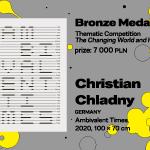 """27. MBP wWarszawie, KONKURS TEMATYCZNY, Christian Chladny, Niemcy, """"Ambivalent Times"""", BRĄZOWY MEDAL (7 000 PLN)"""