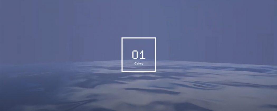 Kadr z filmu promującego wystawę 01 Gallery