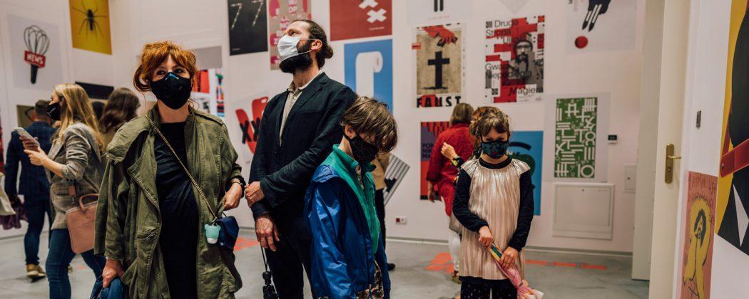 27. Międzynarodowe Biennale Plakatu - warsztaty dla dzieci. Fot.: Stanisław Loba