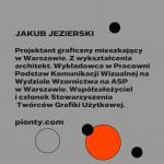 Jakub Jezierski: złoty medal wKonkursie Tematycznym 27. MBP wWarszawie, grafika: OKI OKI – Agata Klepka, Aleksandra Olszewska