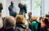 Otwarcie wystawy rzeźb prof.Adama Myjaka zlat 1973-2020, fot.: ASP w Warszawie